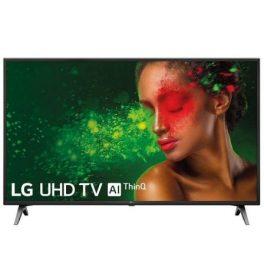 TELEVISOR LG 49UM7100PLB – 49″/124CM – 3840*2160 4K – HDR – DVB-T2/C/S2 – 2*10W – SMART TV – WEBOS 4.5 – WIFI – BT – 3*HDMI – 2*USB – VESA 300*300