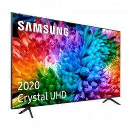 TELEVISOR SAMSUNG UE50TU7105 CRYSTAL UHD – 50″/127CM – 3840*2160 4K – 2000HZ PQI – HDR – DVB-T2C – SMART TV – WIFI DIRECT – 2*HDMI – 1*USB – 200*200