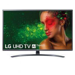 TELEVISOR LED LG 49UM7400PLB – 49″/123CM – 3840*2160 4K – HDR – DVB-T2/C/S2 – 2*10W – SMART TV – WEBOS 4.5 – WIFI – 3*HDMI – 2*USB – VESA 300*300