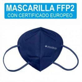 Mascarilla FFP2 – Clip Nasal Ajustable – Certificacion CE/2163 – EN 149:2001+A1:2009 FFP2 NR